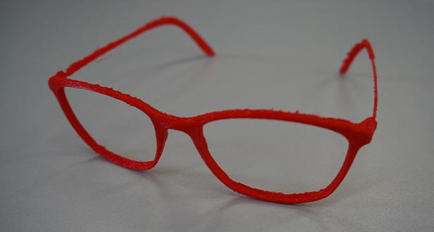FDM printed glasses