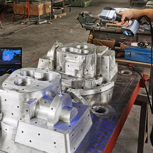 Large Size Aluminum Mold Measuring