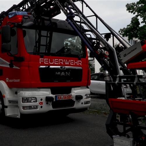 Rosenbauer Firetruck